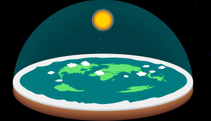 Historia del terraplanismo