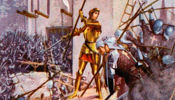 Ataque al fuerte de Tournelles por los franceses