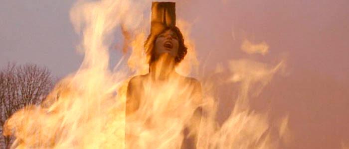 Muerte de Juana de Arco en la hoguera