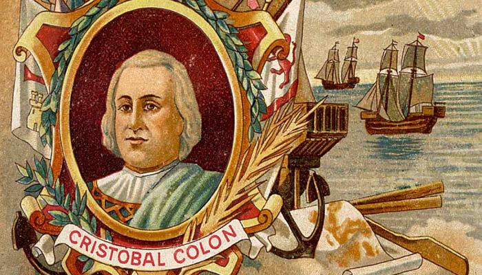 Cristóbal Colón y las tres carabelas