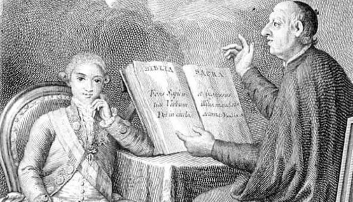 Retrato de Fernando VII y Felipe Scio