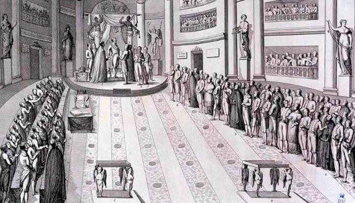 Juramento de la constitución por parte de Fernando VII