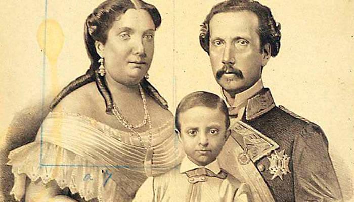Retrato de Isabel II, Francisco de Asís y Alfonso XII