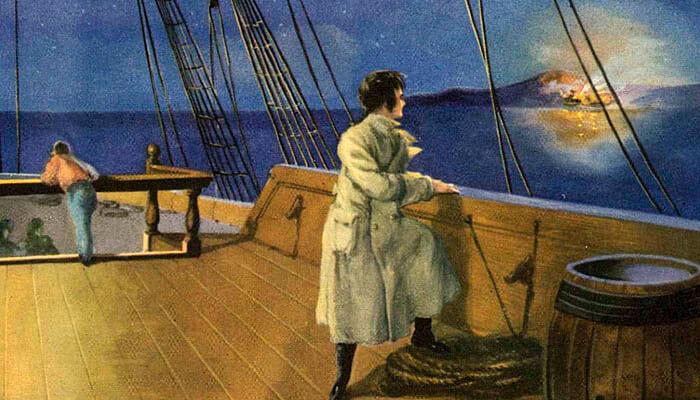 Napoleón Bonaparte deja Córcega tras el estallido de la guerra civil