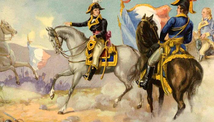 Napoleón Bonaparte en la campaña de Italia
