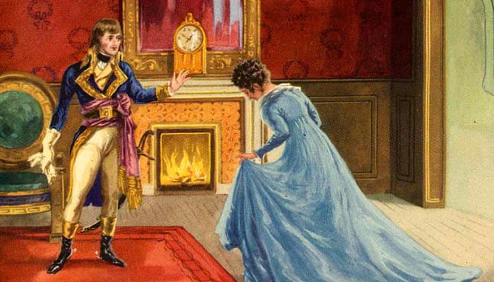 Encuentro de Napoleón Bonaparte y Josefina