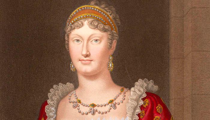 Retrato de María Luisa de Austria