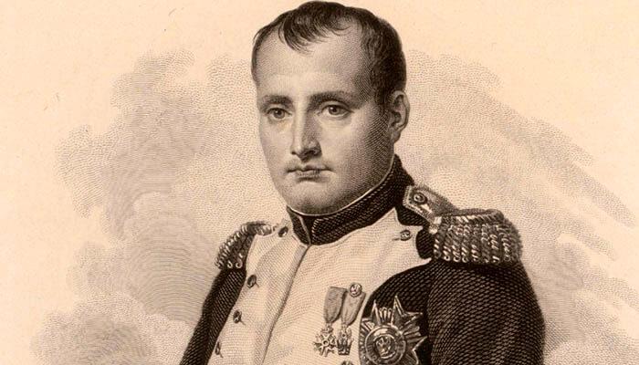 Retrato de Napoleón Bonaparte