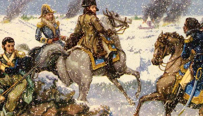 Napoleón Bonaparte en la guerra contra Rusia