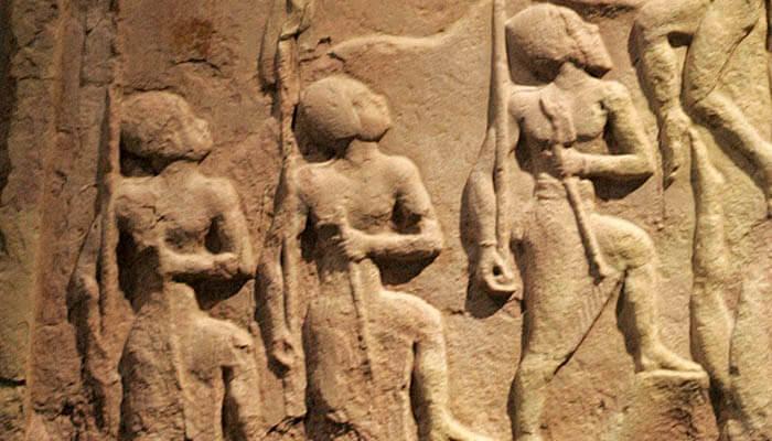 Estela de Naram-Sin del Imperio acadio