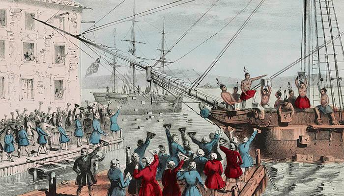 Motín del té (1773)