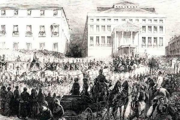 Inauguración del Congreso de los Diputados.