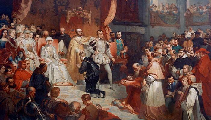 Abdicación de Carlos I de España y V de Alemania