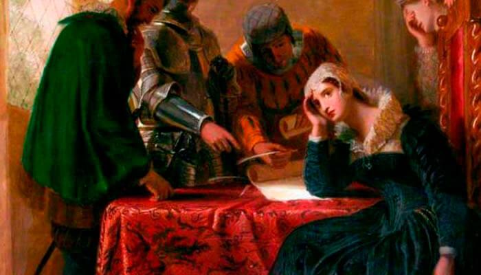 La abdicación de María Estuardo