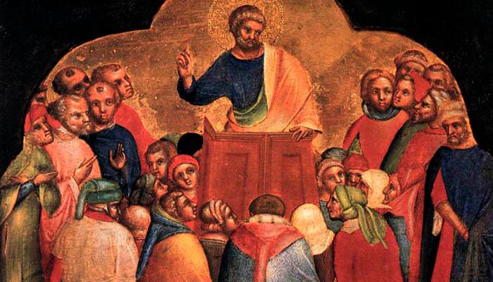 Predicación del apóstol Pedro