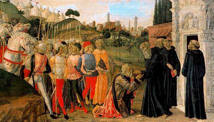 Escenas de la vida de san Benito