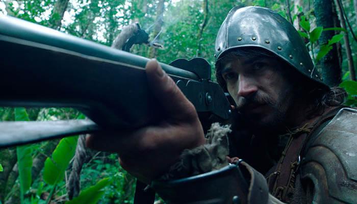 """Juan José Ballesta en una imagen de la película """"Oro""""."""