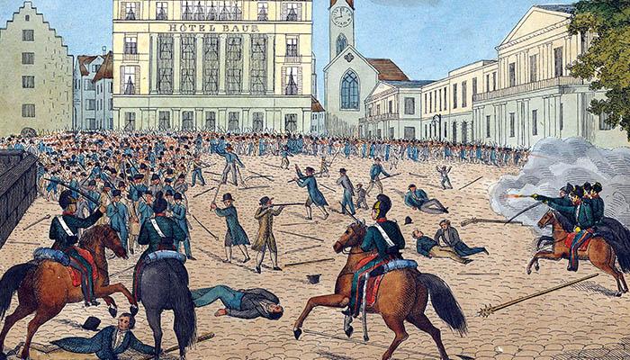 Golpe de Estado de Zúrich en 1839.