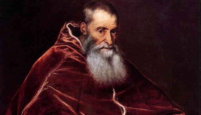 Retrato del papa Paulo III