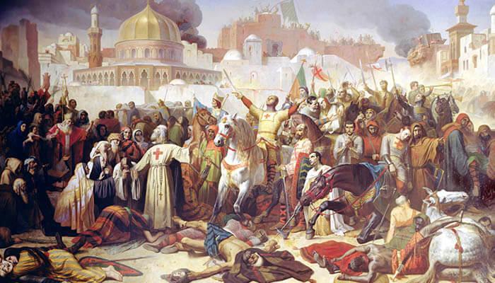 Jerusalén durante las cruzadas