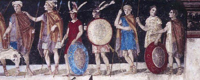 Soldados de Macedonia