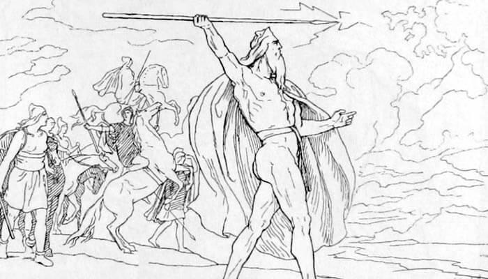 La lanza de Odín