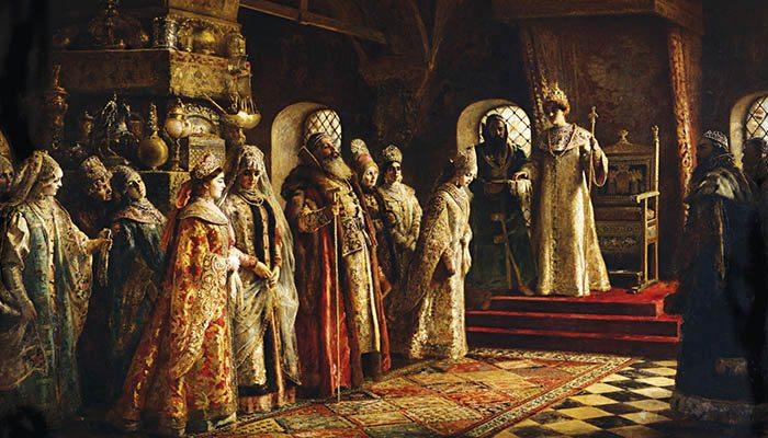 El zar Alejo I de Rusia