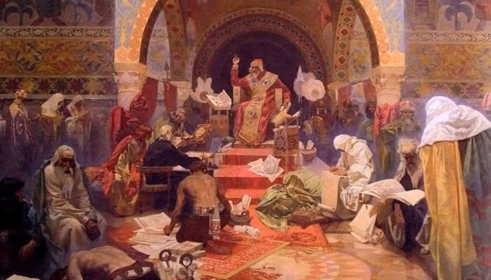 El zar Simeón I de Bulgaria