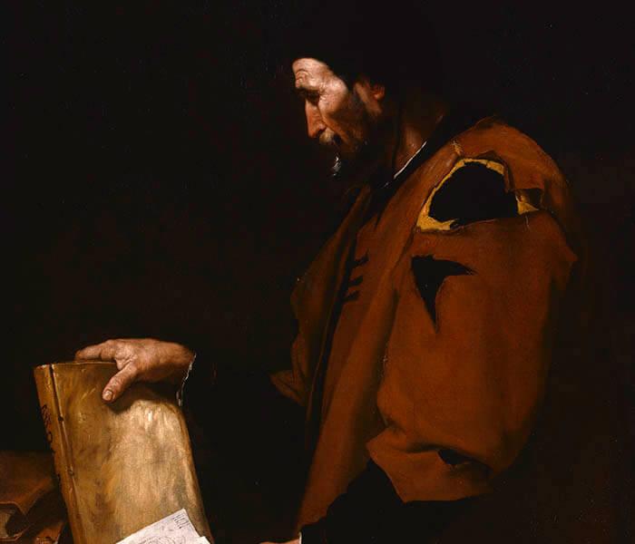 Pintura de Aristóteles