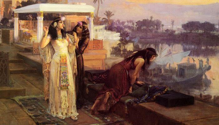 Cleopatra en las terrazas de File