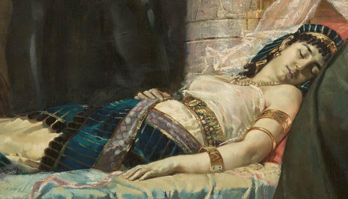Muerte de Cleopatra