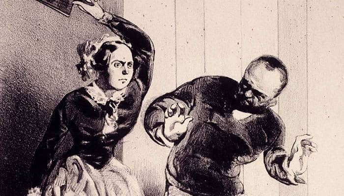 Ilustración sobre el Código Napoleónico