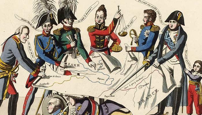 Ilustración del Congreso de Viena