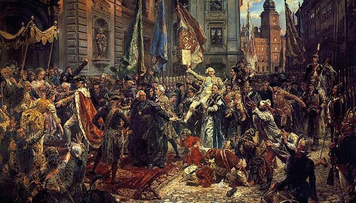 Constitución del 3 de mayo, por Matejko (1891).