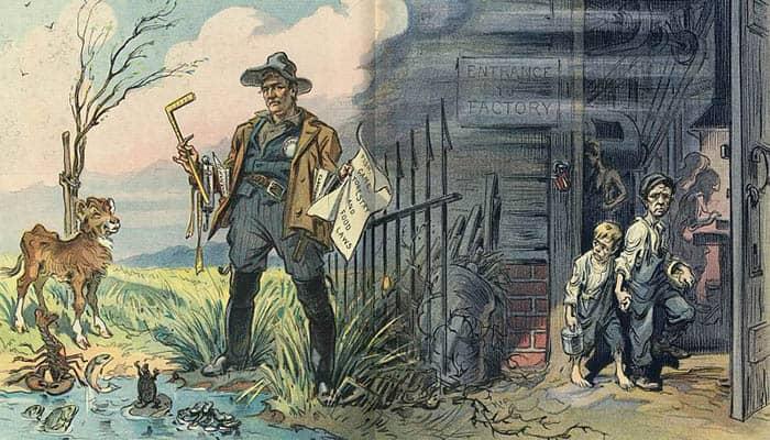 Ilustración del buen y del mal gobierno
