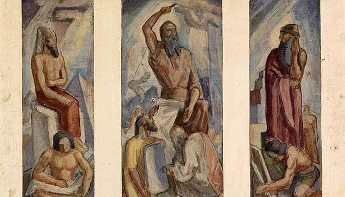 Narmer, Moisés y Hammurabi