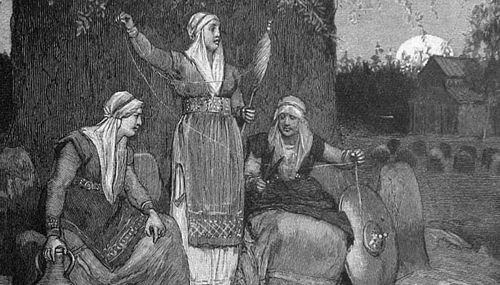 Nornas de la mitología nórdica