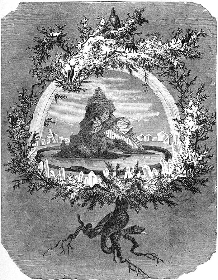 El árbol Yggdrasil