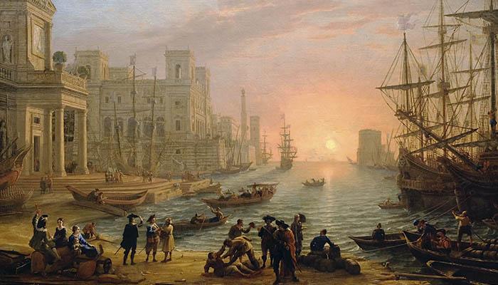 Historia de los puertos marítimos