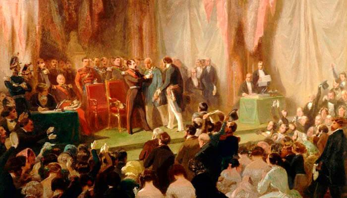 El príncipe Luis Napoleón, presidente de la República.