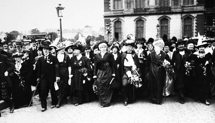 Marcha por el sufragio femenino