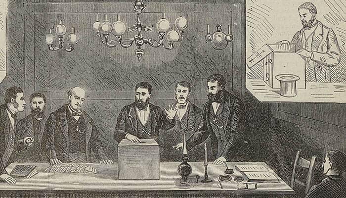 Ilustración del escrutinio de las elecciones legislativas francesas del 4 de octubre de 1885.
