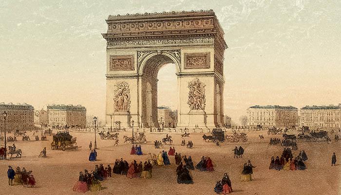Historia del Arco del Triunfo de París