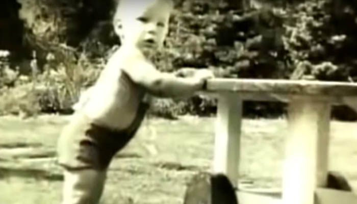 Donald Trump de niño