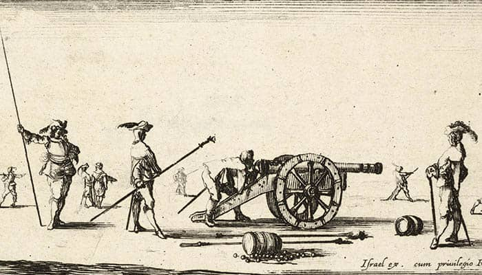 El cañón fue un arma de la Edad Moderna