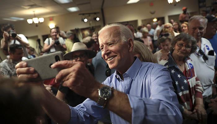 Joe Biden en campaña