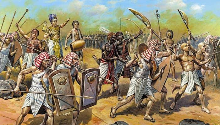 Tutmosis III y su ejército