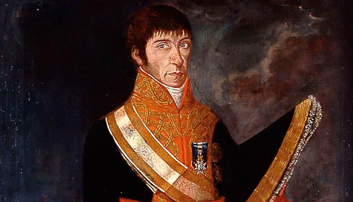 Retrato del teniente general de la Armada española Baltasar Hidalgo de Cisneros
