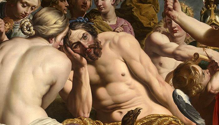 Júpiter reprendido por Venus