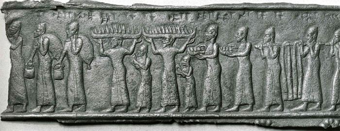 Regalos fenicios a los asirios